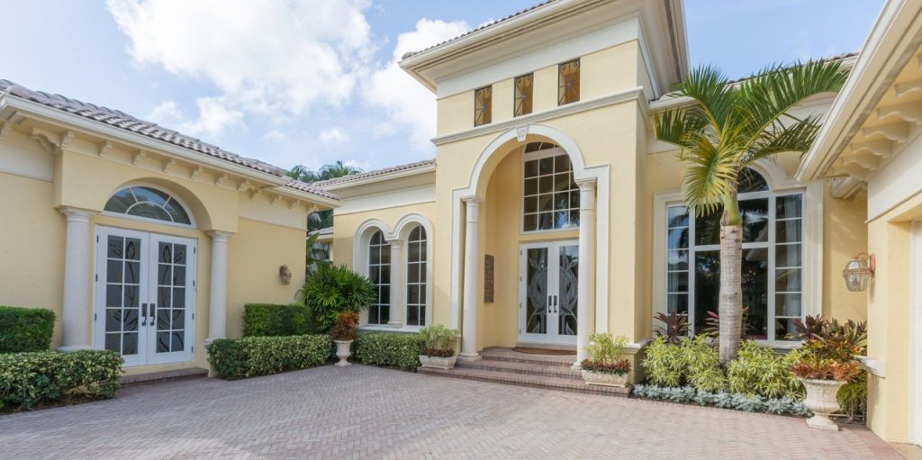 A home with Hurricane windows in Florida